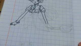 How to draw Cure Magical from Mahou Tsukai Precure