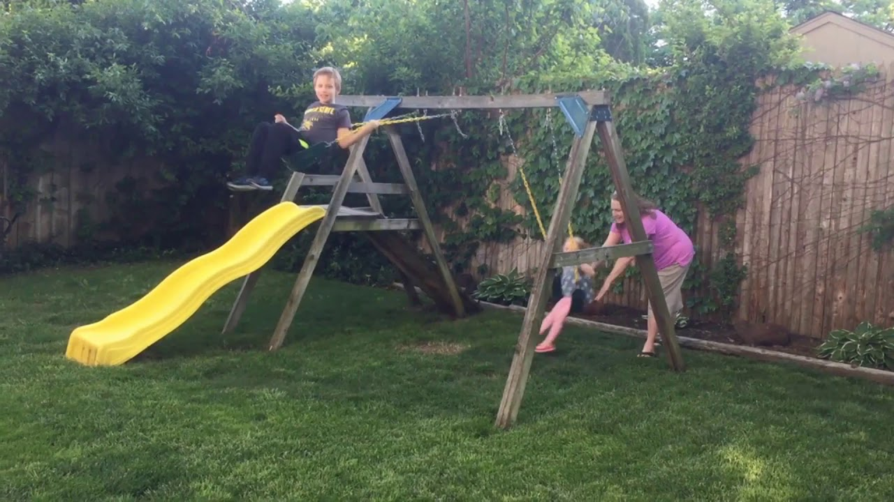 Betty Sunbathing in the Back Yard - YouTube