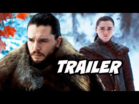 Game Of Thrones Season 8 Trailer 3 Breakdown - Jon Snow and Arya Stark