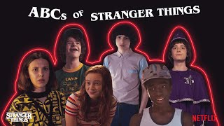 ABCs of Stranger Things 3