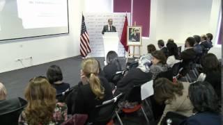 UIC - Conférence de Marouane Tarafa, PDG de la SOMED