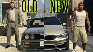 GTA 5 Real Car Mods OLD VS NEW Cars