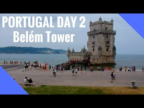 The amazing Tower of Belem in Lisbon