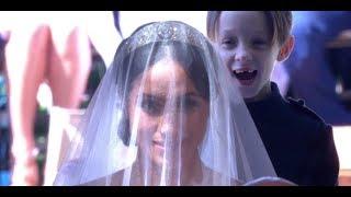 Royale Hochzeit: Die Braut trifft ein