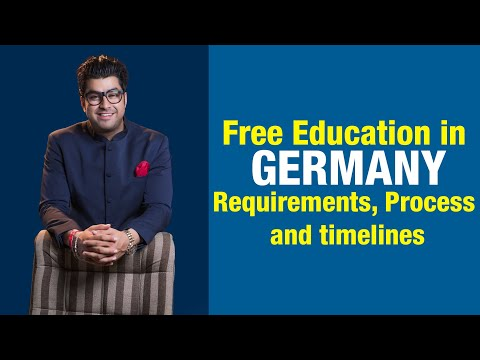 Free Education in Germany - Requirements, Process, and timelines. Watch Our Video.