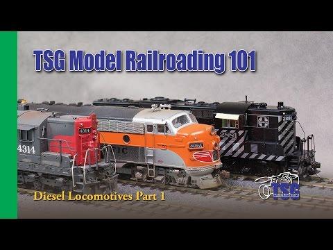 Model Railroading 101 Ep. 8 Diesel Locomotives For Beginners Pt 1