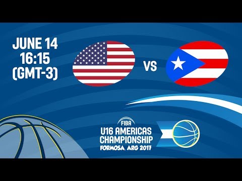 USA vs Puerto Rico - Group B - FIBA U16 Americas Championship
