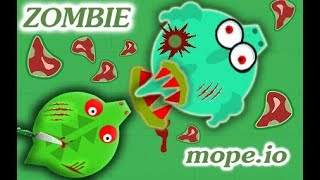 Mope.io ZOMBIE APOCALYPSE! RABBIT KILLED BLACK DRAGON