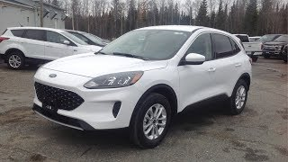 2020 Ford Escape SE AWD: Start Up, Exterior, Interior, Brief Drive & Full Review