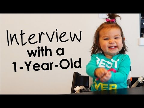 Interview with a One Year Old - Julianna from ItsJudysLife