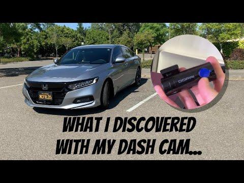 2018 Honda Accord dash cam update- What I just found out...