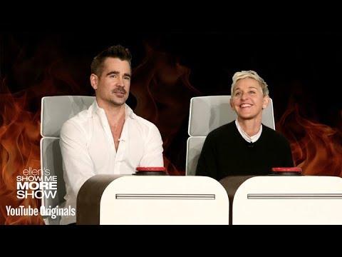 Download Youtube: Colin Farrell and Ellen Answer Ellen's Burning Questions