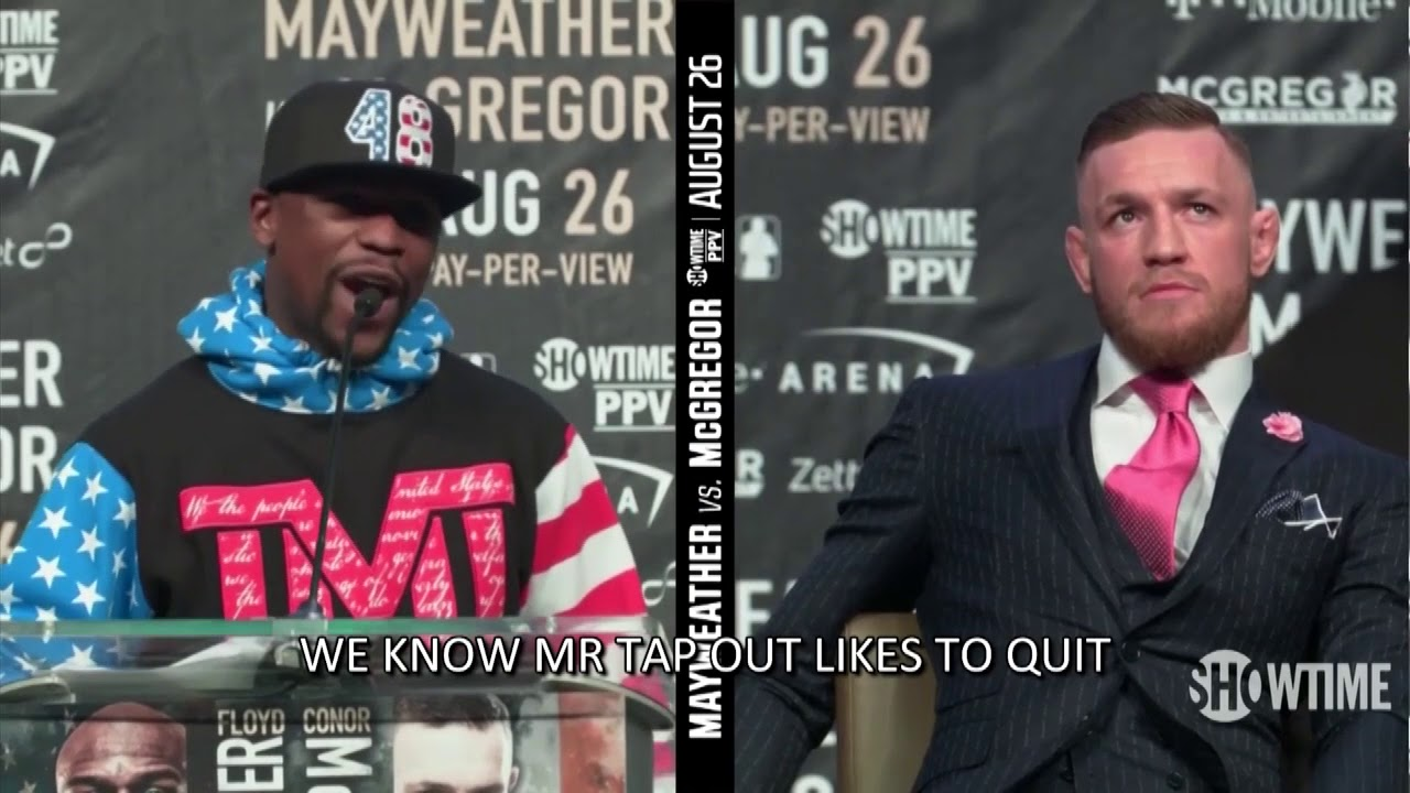 Floyd Mayweather Vs. Conor McGregor: 10 Things You Need To Know About The ...