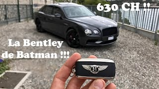 Je vous présente la Bentley de Batman ! 630 chevaux sous le capot !