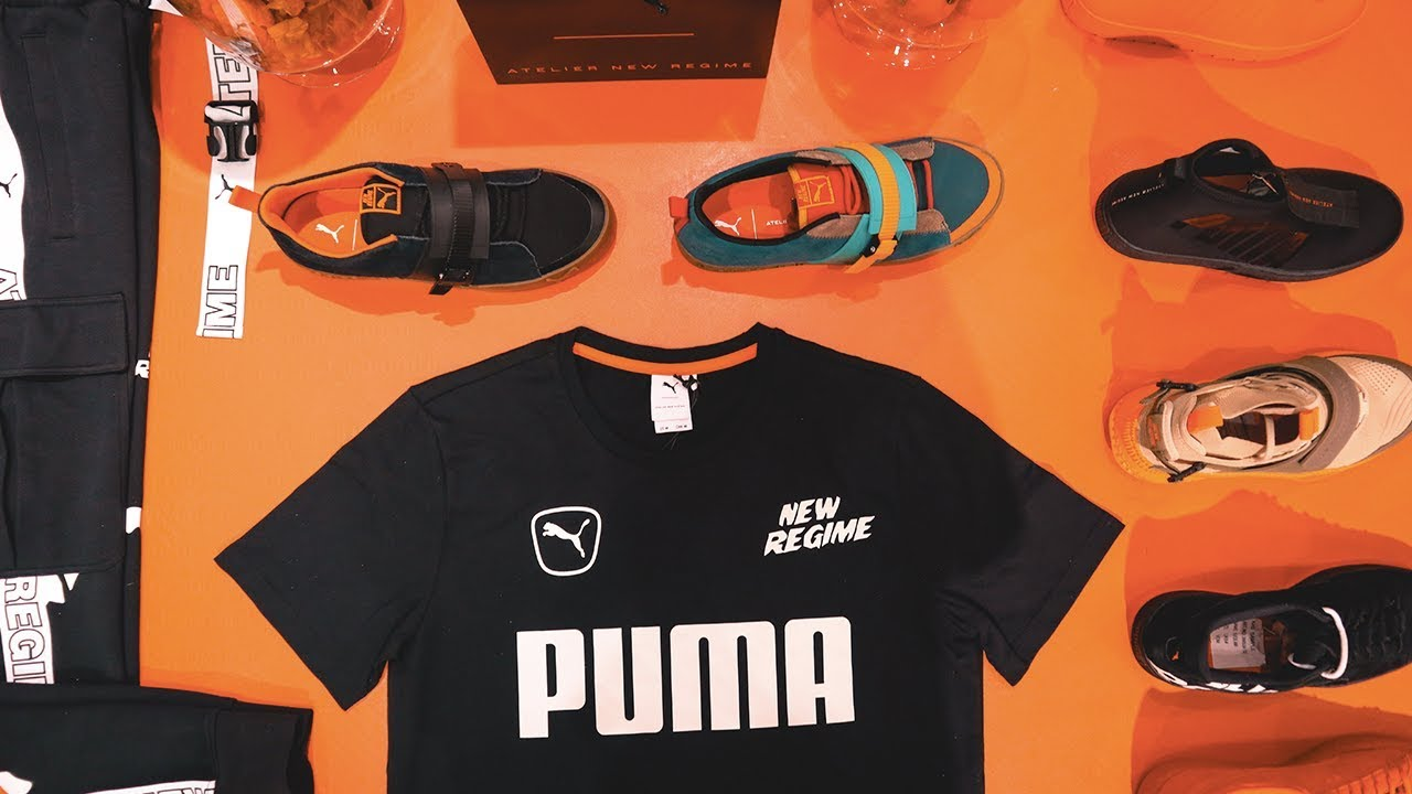 2a3bc729bf3401 A CLOSER LOOK: at the PUMA x Atelier New Regime FW18 Collection ...