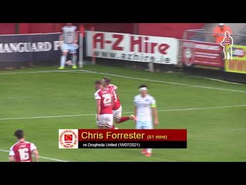 Goal: Chris Forrester (vs Drogheda United 16/07/2021)