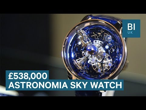 The £538,000 watch which contains a map of the cosmos