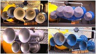 TRAIN HORNS: K5LLA, K5H & 4 K5LA