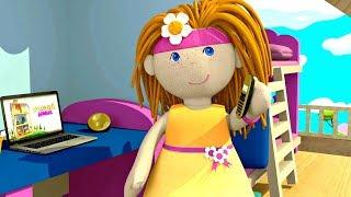 Кукла Бьянка учит предметы - Мультики Кукольный домик для малышей