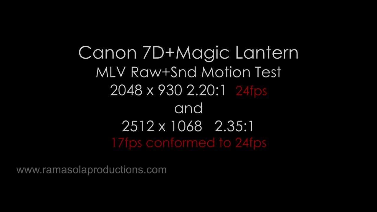 7D 2512x1068 cars motion test