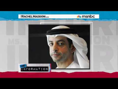 Rachel Maddow- Head of worlds largest sovereign fund goes missing