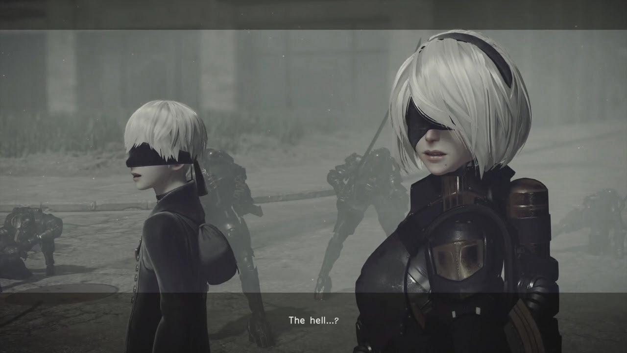 2b android nier automata compilation 1 2