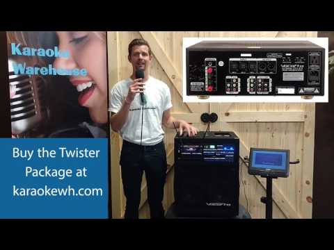 Karaoke Warehouse Twister Package