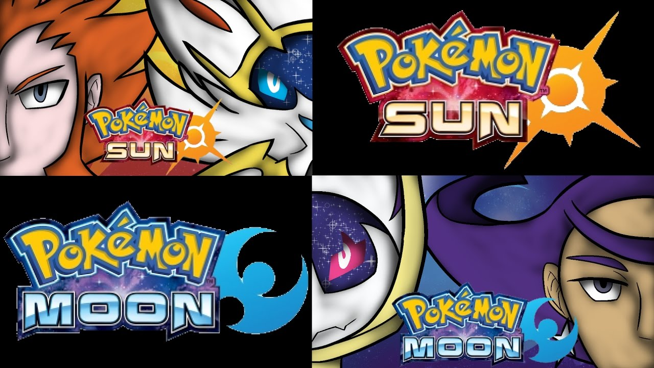 Pokemon Sun And Moon Wallpaper Speedpaint Youtube