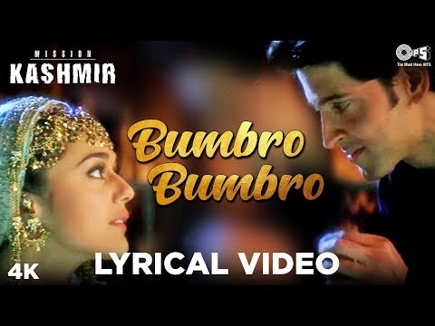 Bumbro Bumbro Lyrical - Mission Kashmir | Hrithik & Preity | Shankar Mahadevan, Jaspinder & Sunidhi Mp3