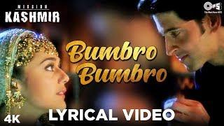 Bumbro Bumbro Lyrical - Mission Kashmir | Hrithik & Preity | Shankar Mahadevan, Jaspinder & Sunidhi