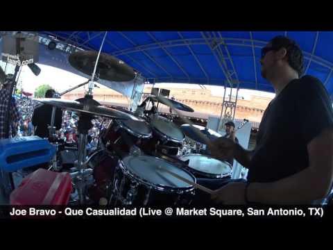 Joe Bravo - Que Casualidad (Live @ Tejano Music Awards Fan Fair 2016) - Drum Cam