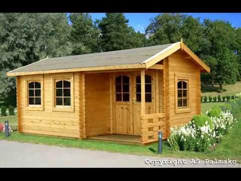 Casetas de madera para jardin palmako youtube for Casas de jardin de madera baratas