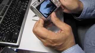 Canon PowerShot - поменяйте батарейки(Что делать если горит индикатор