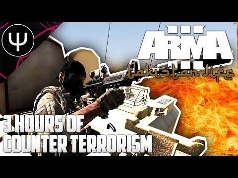 ARMA 3: Takistan Life Mod — 3 Hours of Counter TERRORISM!