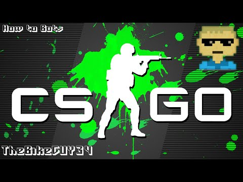 How To Add And Remove Bots (CSGO)