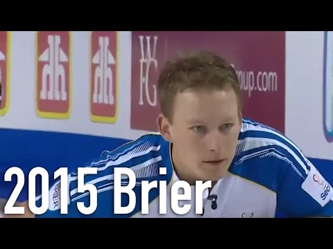 Cotter (BC) vs. Laycock (SK) 2015 Tim Hortons Brier Draw 17