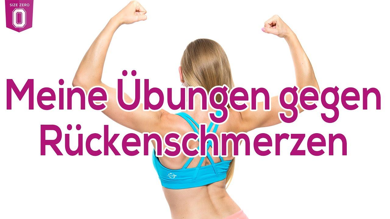 Meine Übungen gegen Rückenschmerzen - Training für Frauen..