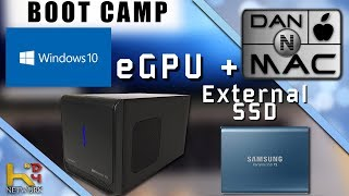 Install Boot Camp on External SSD & Using an eGPU!