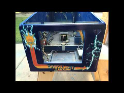 Back To The Future Pinball Machine Restoration [HD]