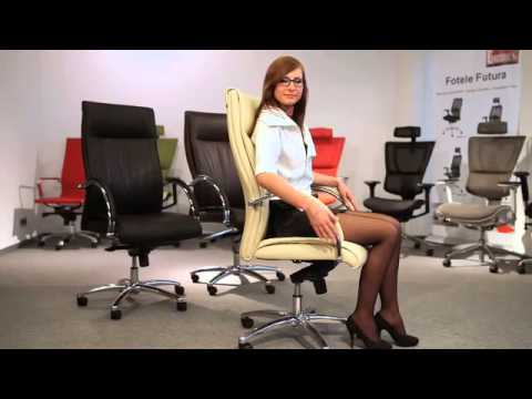 Fotel Obrotowy GROS - funkcje EFEKT STYLE