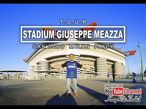 Tour Stadium Giuseppe Meazza, Milan Italy (The Power of Vision Board - part 2)
