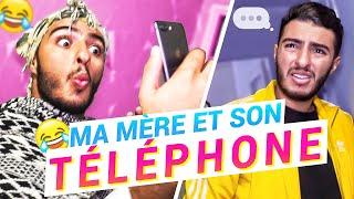 MA MÈRE ET SON TÉLÉPHONE - FAHD EL