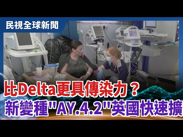 【民視全球新聞】比Delta更具傳染力? 新變種