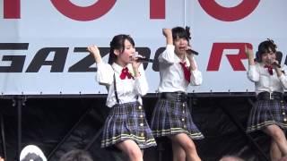AKB48 チーム8 2015.7.19 富士スピードウェイ 服部有菜 推しカメ ハロウ...