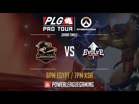 PLG Pro Tour: Overwatch 2017 Grand Finals - [KSA] Osh-Tekk Warriors vs [KWT] Evolve Gaming