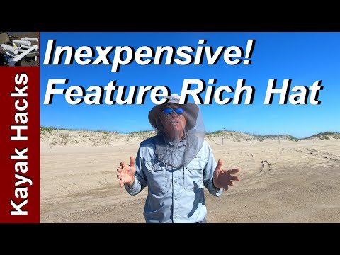 Fishing Hat Review - Inexpensive UniGear Fishing / Sun Hat