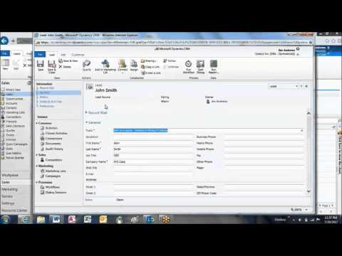 How to Convert Sales Leads in Microsoft Dynamics CRM