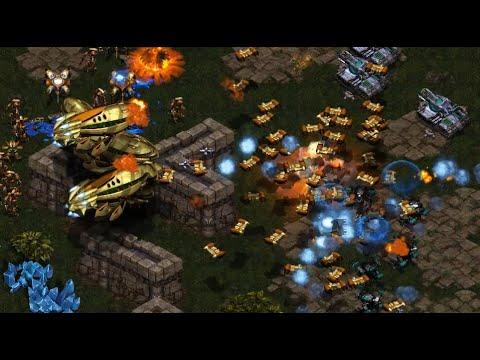 Mong (T) v Shuttle (P) on Fighting Spirit - StarCraft  - Brood War