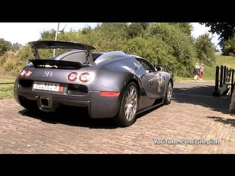 Bugatti Veyron – Sound! (accelerations & revv)