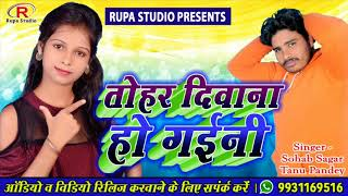 New Bhojpuri Romantic Love Song 🎶🎶Tohar Deewana Ha Gaini   2019   🎤Singer Sohrab Sagar & Pandey